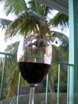 Fine wine and palm trees - Ahhhh!!